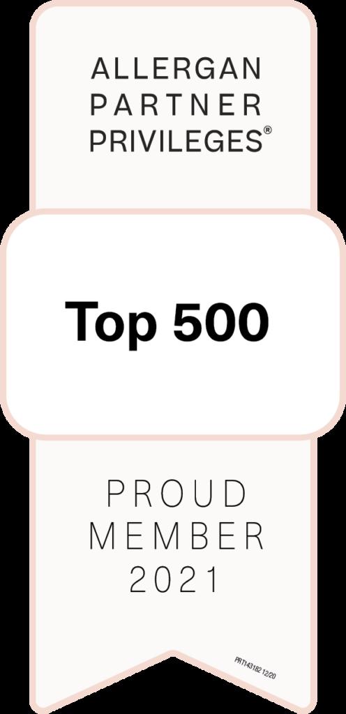 Top 500 Allergan Partner